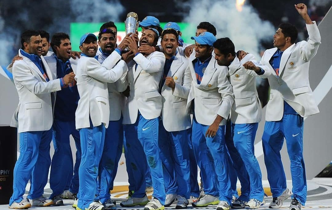 This day, that year! 😍#ChampionsTrophy2013