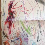 July 3rd is #JulianAssange 's birthday.  The tiny comrades (ages 4 & 5) in our household drew this & it will make its way to Belmarsh  I tweet it to salute the parents @AssangeMrs who raised such a fearless child. We demand his safety   @xychelsea @olabini we demand your freedom
