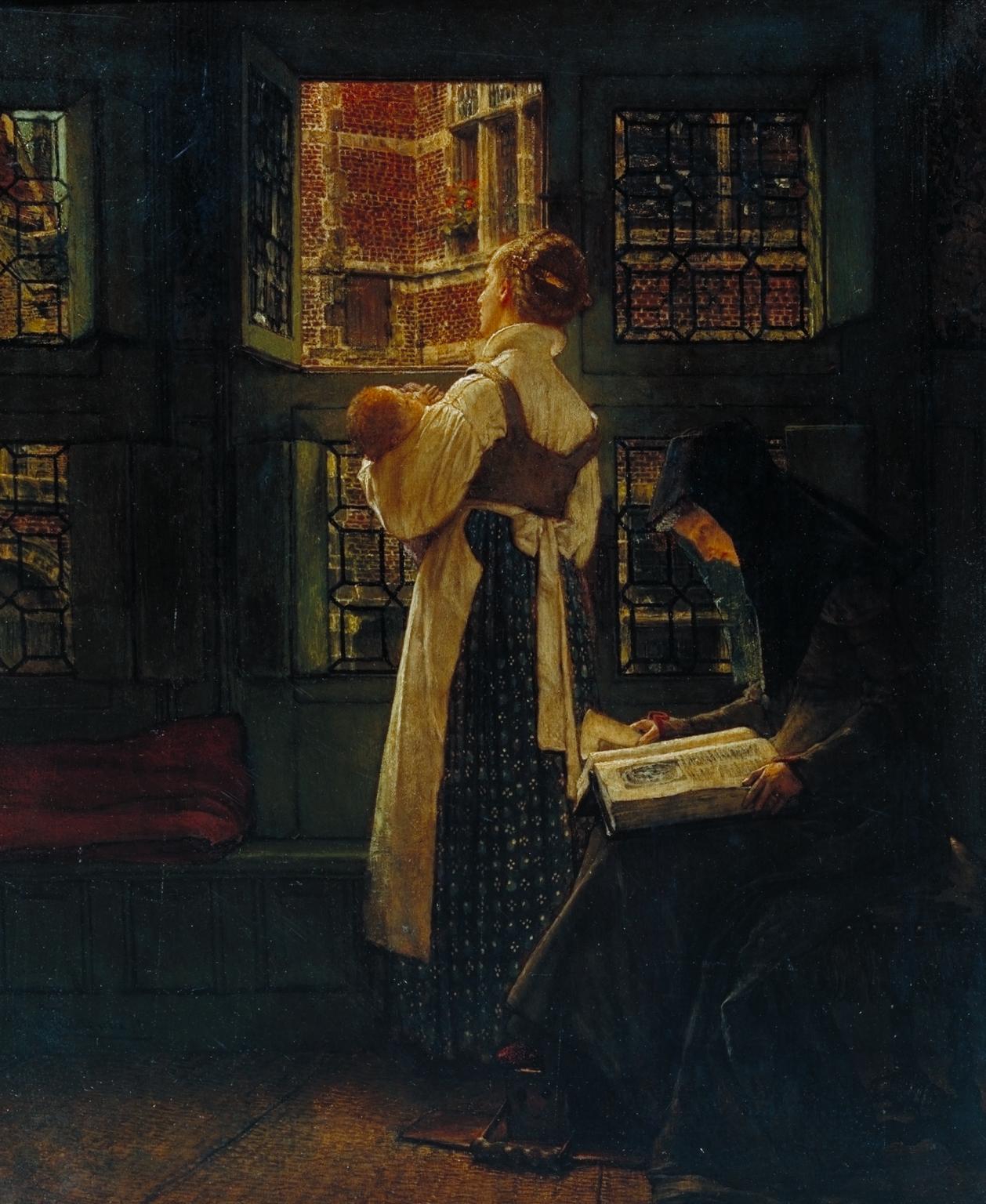 Sir Lawrence Alma-Tadema: Sunday Morning 1871 by Sir Lawrence Alma-Tadema 🖌️☀️ at Tate Britain: https://...