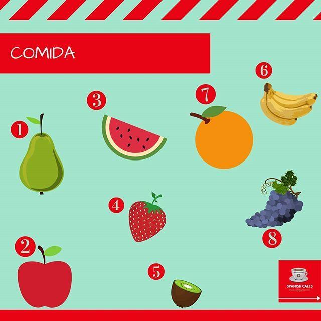 ¿Cómo se llaman estas frutas? ¿Cuál es tu preferida? . . . . #spanish #spanishlessons #spanishvocabulary #spanishchallenge #spanishonlineteacher #spanishteacherfrombarcelona #spanisheveryday #español #españolcadadía #aprendo_español #meencantaspanishcalls http://bit.ly/2Xx5QyF