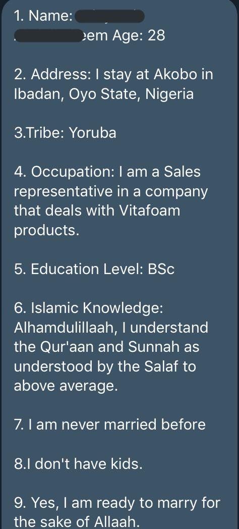 Salafi matchmaking