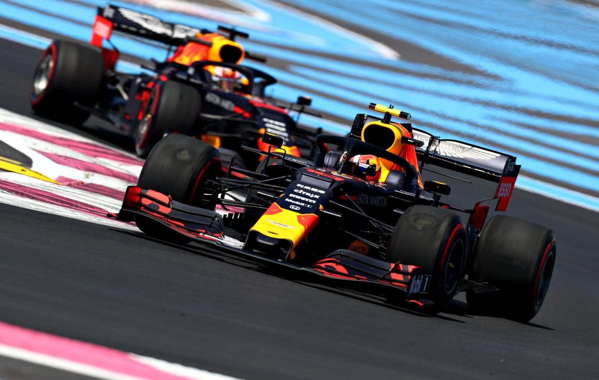 It's race day here in France as the Bulls are about to take to the track for what is set to be an exciting day.   #AstonMartinRedBullRacing #FrenchGP #F1