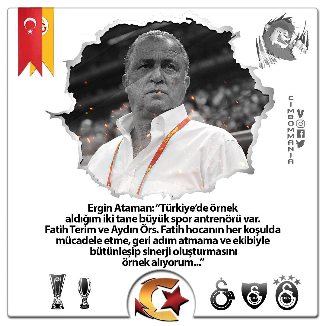 """💢Ergin Ataman:""""Ben Efes'in antrenörü iken Türkiye'nin en iyi, en güzel seyircisinin Efes'te olduğunu dile getiriyorum. Ama sonuçta ben bir Galatasaraylıyım. Ve biliyorsunuz bir hedefim var. Sürem dolduğu zaman Galatasaray Başkanlığı'na adayım..."""""""