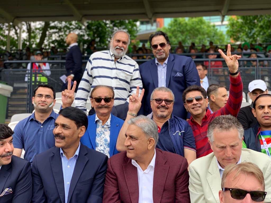Good looking boys at Lords today.. #PakvsSA #pakistan #ICCWorldCup2019