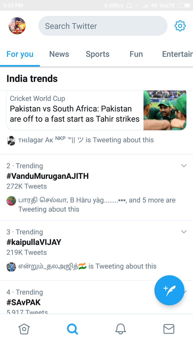 IndvsAfg - Twitter Search