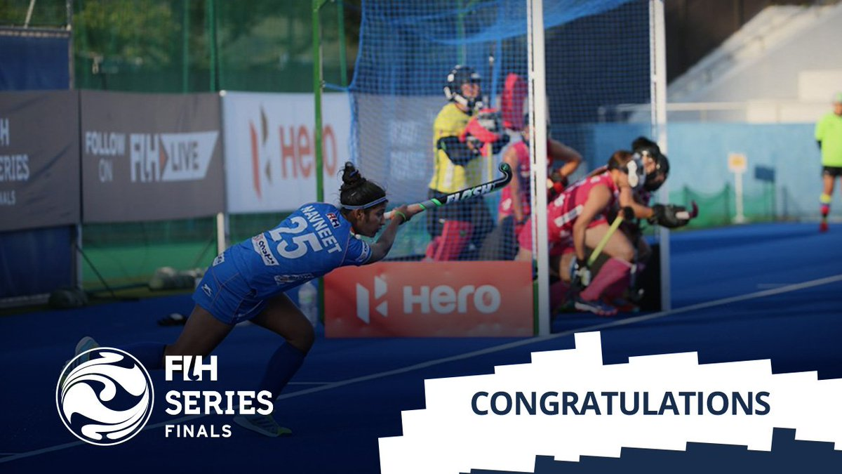 Meet the World Hockey Champions Indian Women Hockey team won the championship in Hiroshima after beating Japan by 3-1. An absolute dominating performance from India to win the title#Hockey #INDvJPN #FIHSeriesFinals
