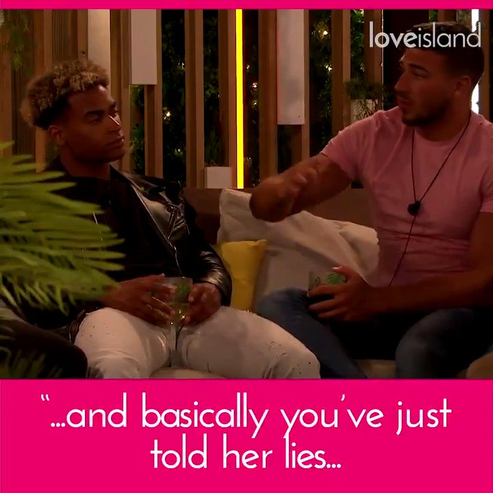 💔FIRST LOOK 💔  Yewande's left devastated after a tense chat with Danny.  As she questions her future in the villa, he faces some home truths from the boys...  #LoveIsland