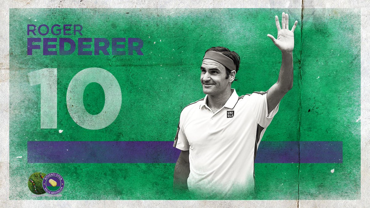 Федерер одержал юбилейную победу натурнире вГалле