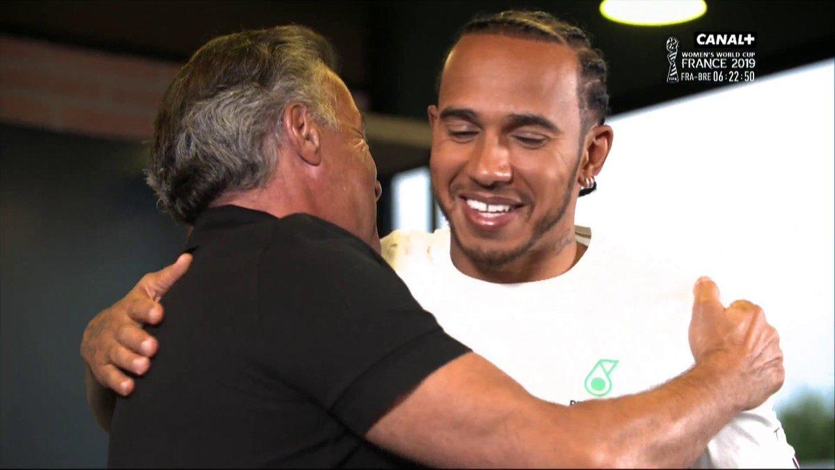 Confidences de Lewis Hamilton avec Jean Alesi