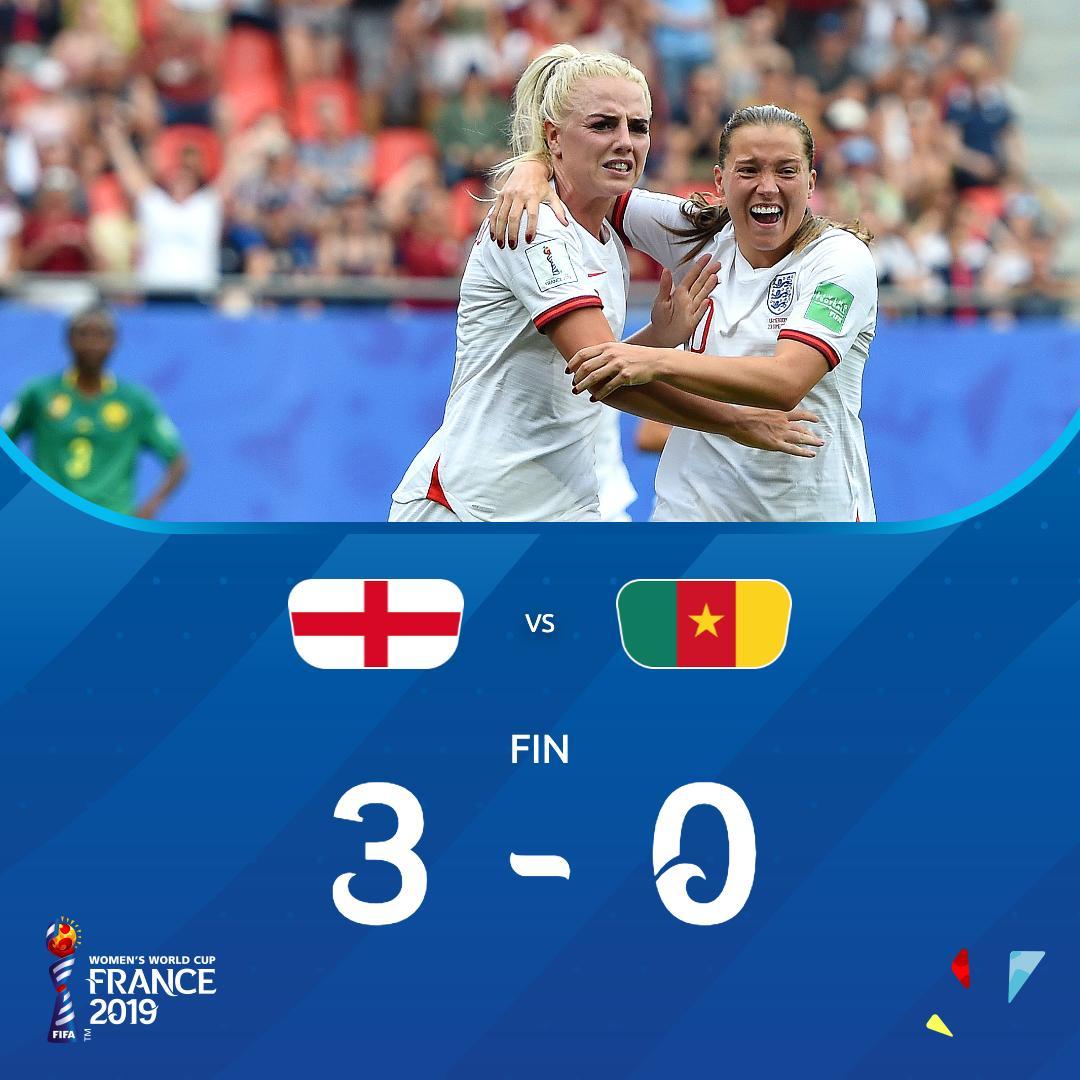 Angleterre-Cameroun