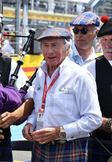 Happy 80th Birthday dear Jackie Stewart !