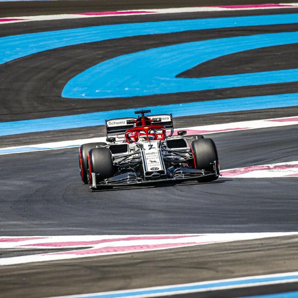 What a race at the Paul Ricard, where #Kimi7 scored an important P7.  Not the easiest Sunday for #AG99: after a great performace in qualifying (P10), he finished the race P16. @alfaromeoracing  #FrenchGP #Formula1 #F1 #AlfaRomeo