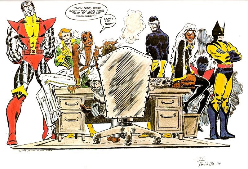 I will never stop reminding folks that Dazzler was originally supposed to be a black woman.
