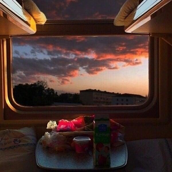 Живые, картинки хорошего пути в поезде