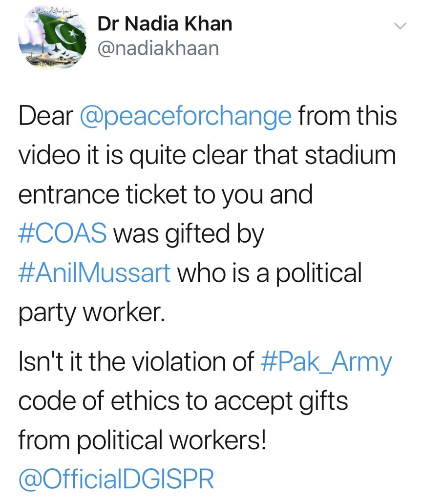 Every Pakistani in the stadium wished to host us. Try see the social media dispassionately. I have legal options but am ignoring your myopic and agenda based expression as it's a moment of forgiving and enjoyment for all Pakistanis.