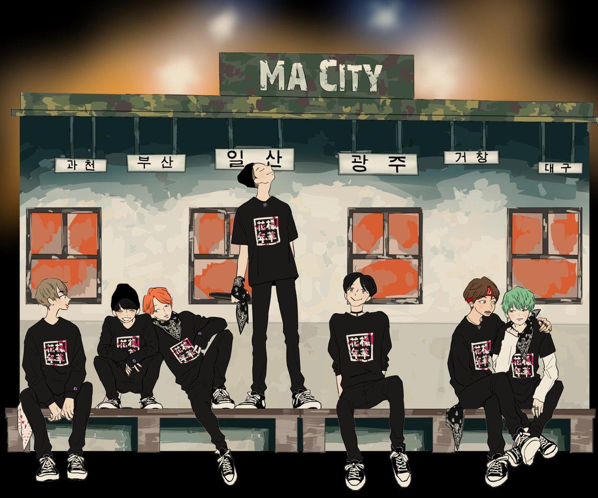 Ma City 2015 → 2019 https://t.co/BfjgR4iSq8