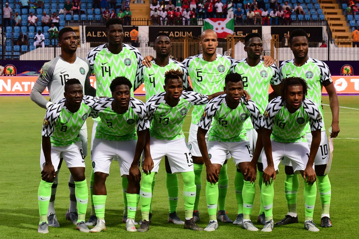 Off to a winning start at #AFCON2019✅  Congrats, @alexiwobi and @NGSuperEagles 🇳🇬  #SoarSuperEagles https://t.co/JpjTbNTAlQ