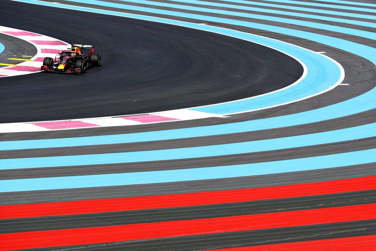 With the race almost half way through, the Bulls keep pushing.   #AstonMartinRedBullRacing #FrenchGP #F1