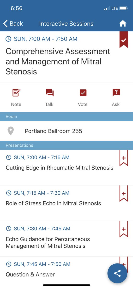 Come to the early case session happening now! @ASE360 #ase2019 #EchoFirst #ASEValves