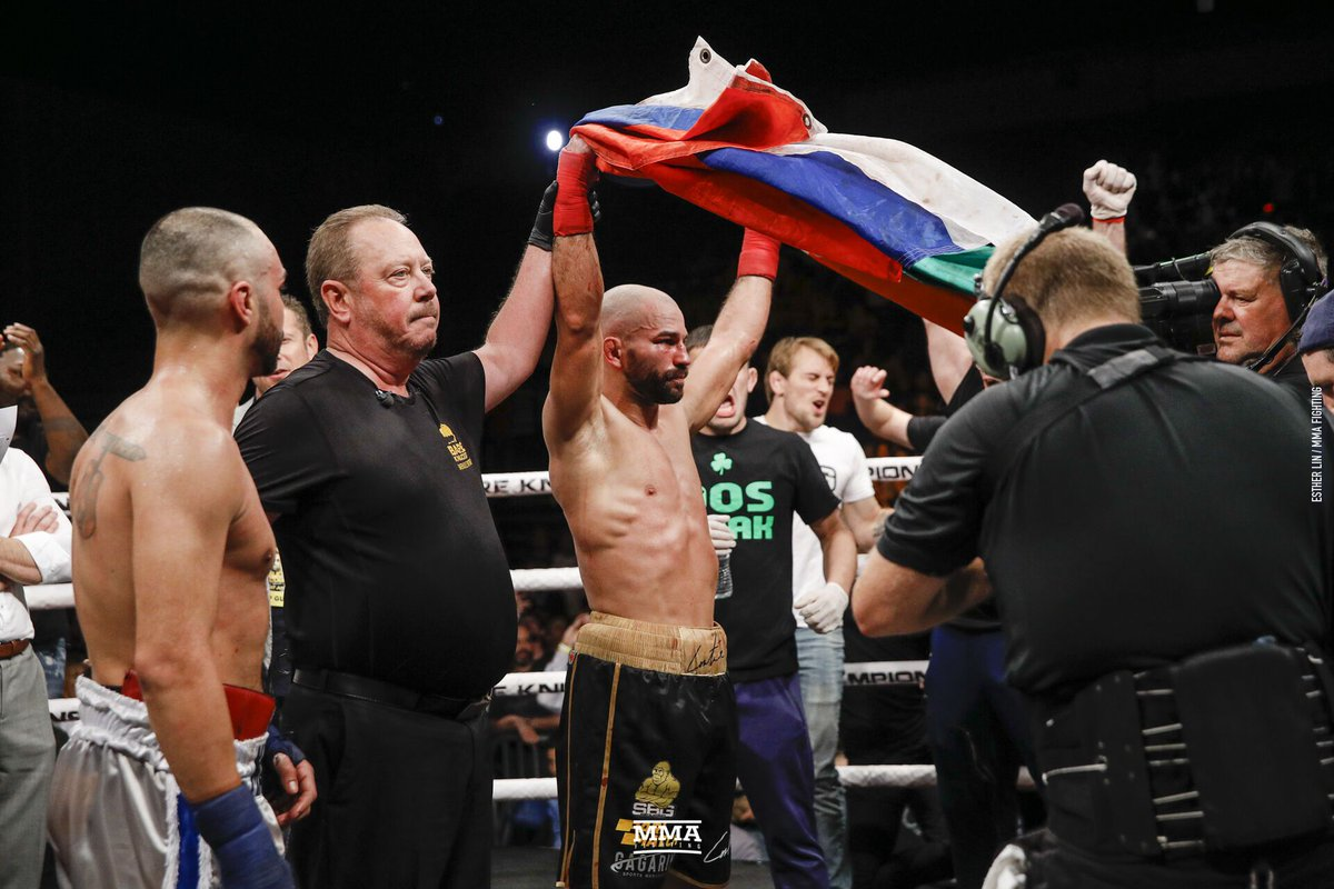 """Artem Lobov puts the rivalry with Paulie Malignaggi behind him after getting the win at #BKFC6   """"I take my hat off to him. He's always been a fighter and he still is."""" https://www.mmafighting.com/2019/6/23/18714238/artem-lobov-puts-paulie-malignaggi-rivalry-to-bed-admonishes-poor-refereeing-in-fight?utm_campaign=damonmartin&utm_content=chorus&utm_medium=social&utm_source=twitter…"""