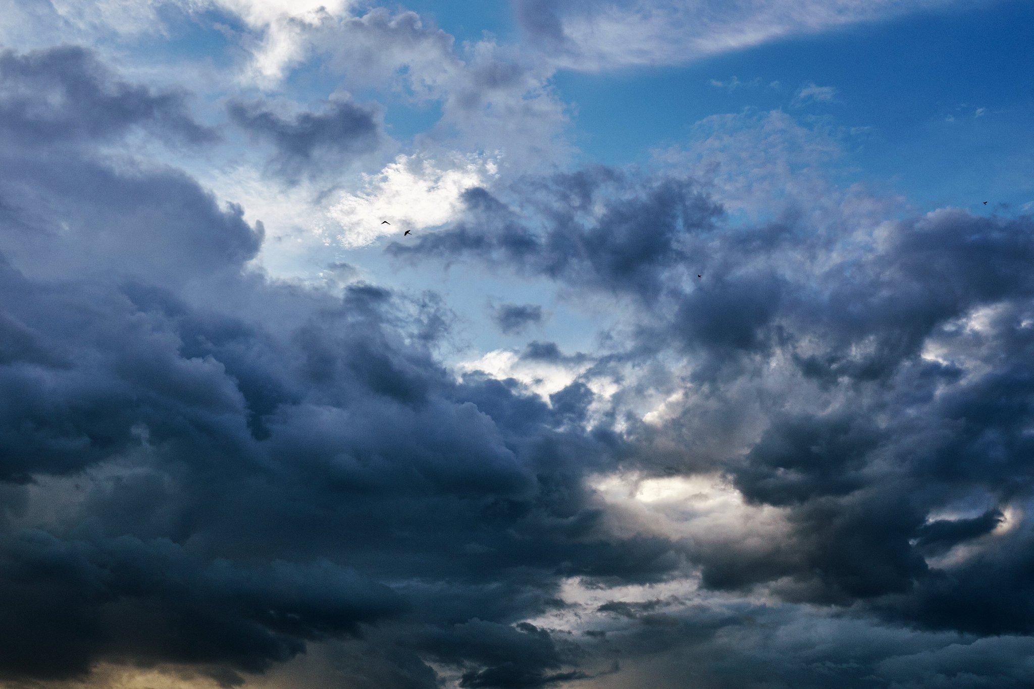 Золотая Долина и волшебные облака над ней, июль 2019 года