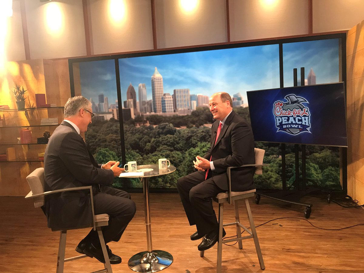 """Sports has had the biggest impact on Atlanta than anything else we've ever done.""  The head of @CFAPeachBowl Gary Stokan sits down with @drubinger NEXT on @11Alive.<br>http://pic.twitter.com/Sda7rQbbuM"