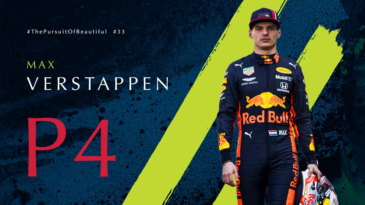It's a P4 finish for @Max33Verstappen in the #FrenchGP.Next up is the #AustrianGP at the Red Bull Ring.   #AstonMartinRedBullRacing #F1