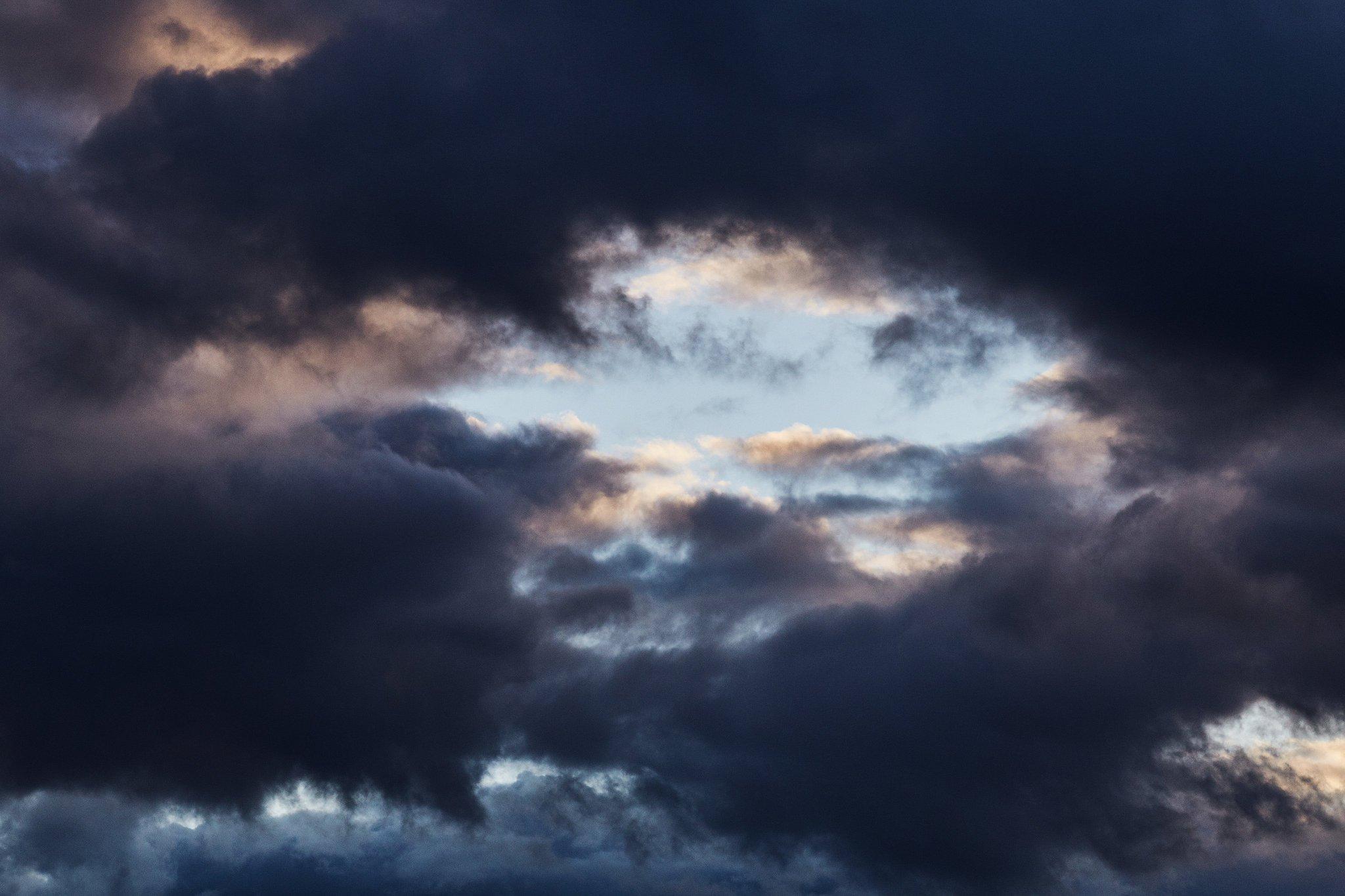 Облака над Золотой Долиной в Приморье, июль 2019 года. Автор фото - Tengyart