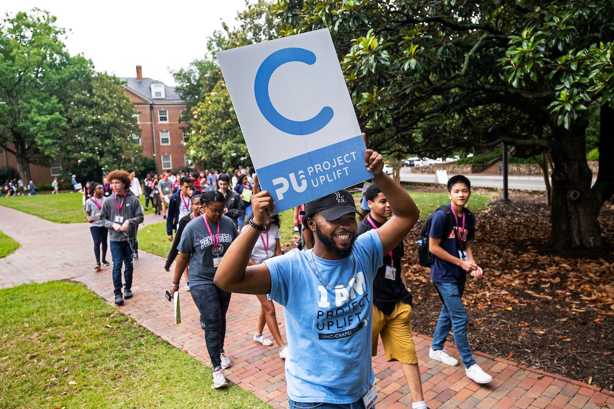 Last week, we introduced you to @Project_Uplift and its mission to give underrepresented high school students a taste of Carolina. Now, we're welcoming Uplift PLUS students to #UNC for an intensive five-week program! https://t.co/YC1iaShOAD