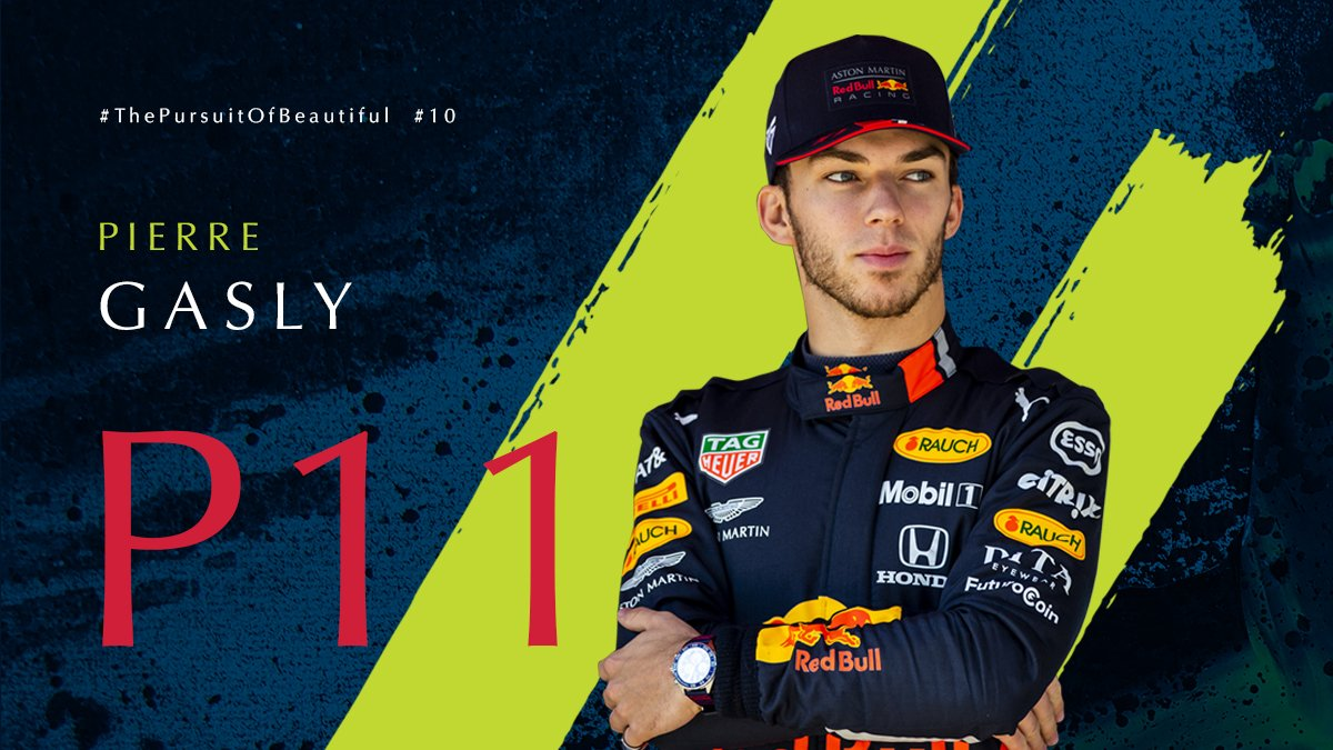 It's a P11 finish for the hometown star @PierreGASLY at the #FrenchGP. We will be back again for the #AustrianGP.   #AstonMartinRedBullRacing #F1