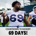 Image for the Tweet beginning: We are 69 days away