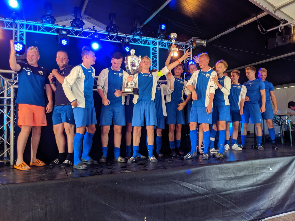 VV Valthermond JO-19 wint 14e A&B toernooi