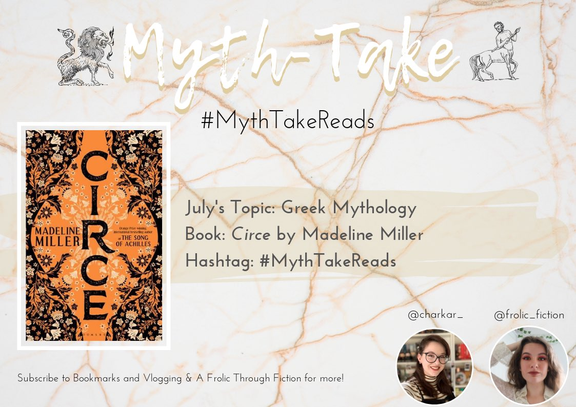 Myth Take On Twitter Our July Read Announcing