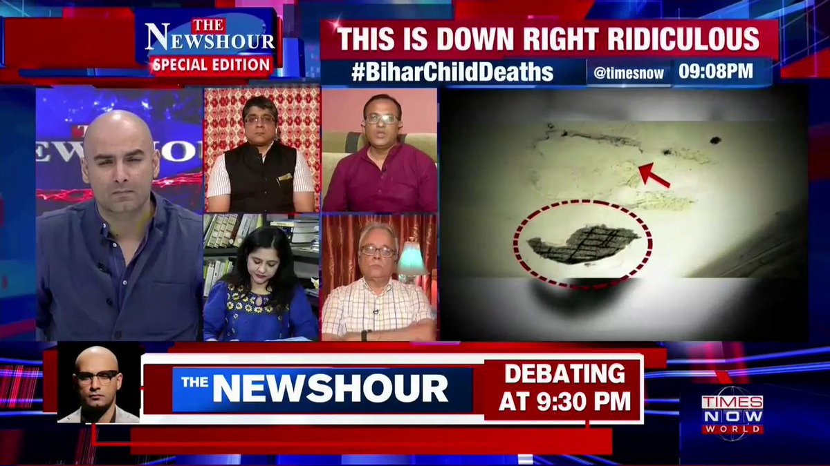 We need to improve certainly: Subodh Kumar, Leader JDU, tells #AtharKhan on @thenewshour SPECIAL EDITION.   #BiharChildDeaths