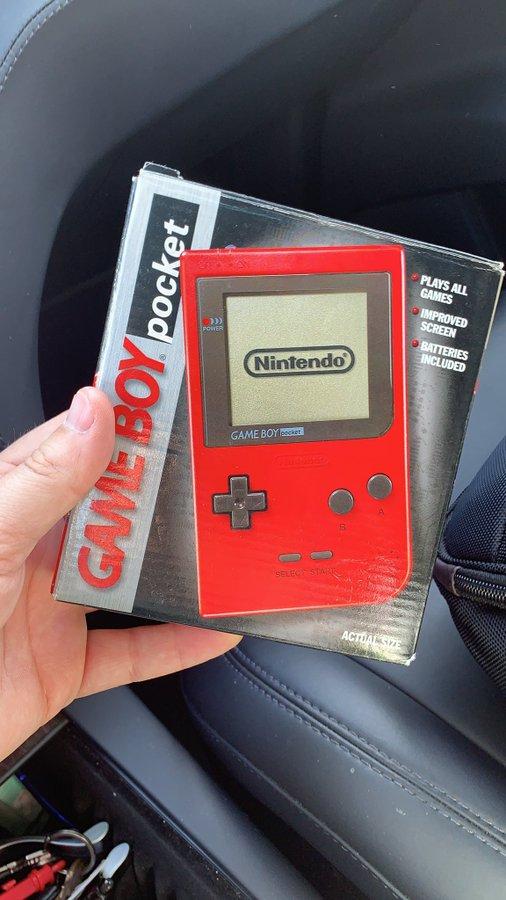 Gameboy Pocket in original box