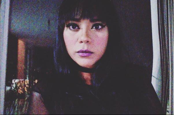 New Look 💀👽.......#selfie #tonight #newlook #nights #ladynight #choker #mood #instapic #likeforlikes