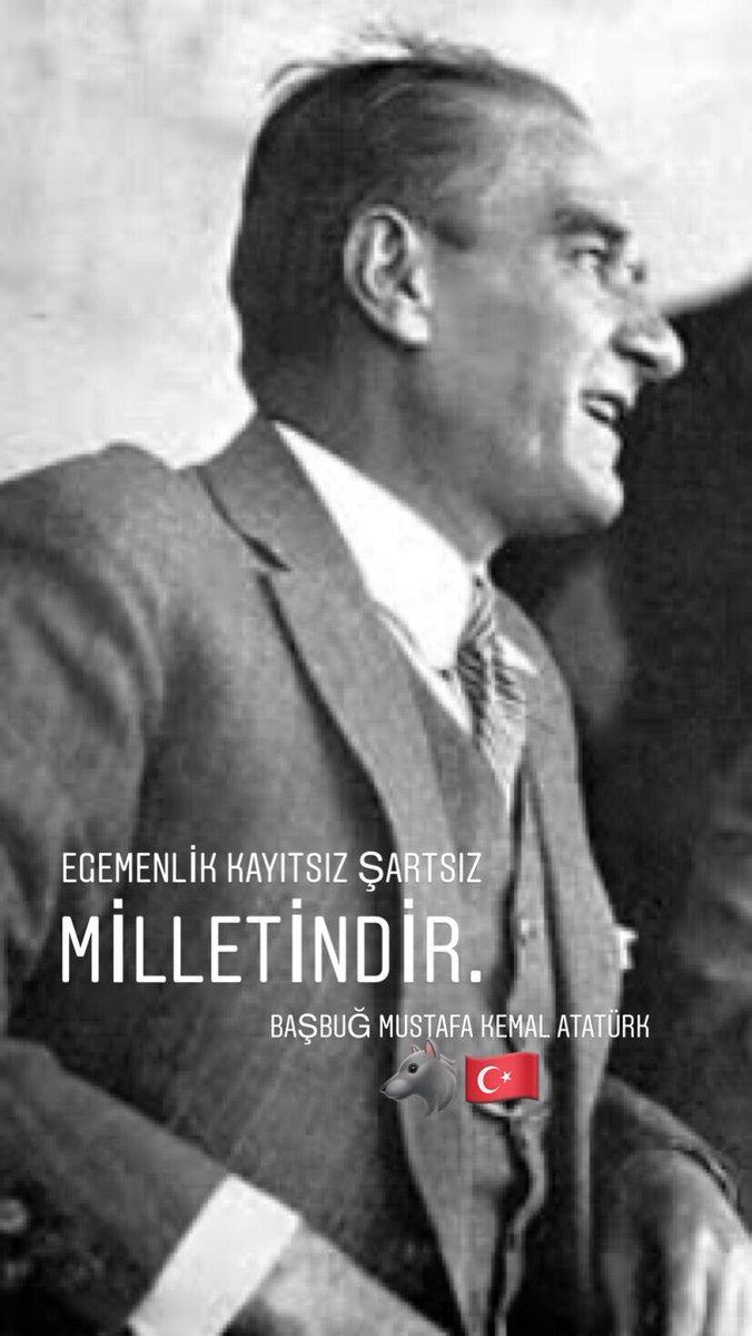 RT @Capitano92: Başbuğ Mustafa Kemal Atatürk🐺🇹🇷 #Bozkurt #Türk https://t.co/nY1Kqrdo4f
