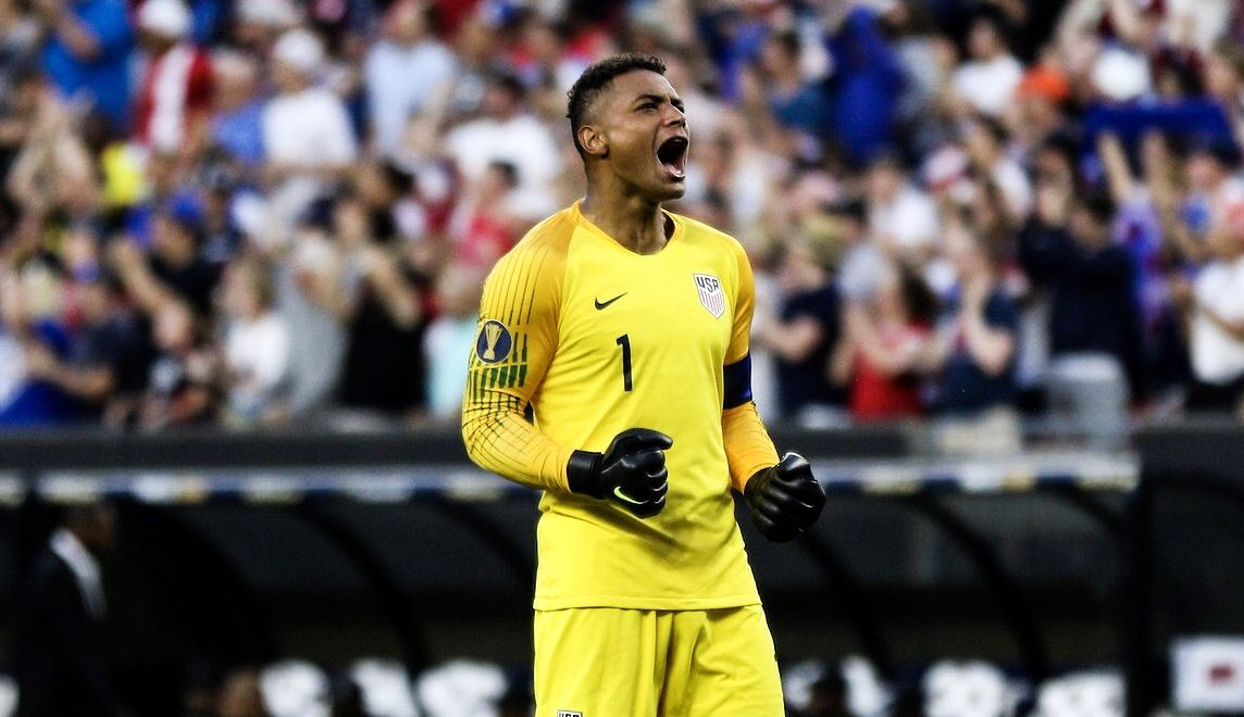 🇺🇸 Captain America 🇺🇸 2️⃣ clean sheets in 2️⃣ matches for @zackstef_23 #HeATerp