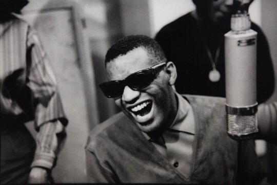 """June 23, 1959: Ray Charles records """"Let the Good Times Roll"""" with a band led by Quincy Jones in New York. https://the1959project.com/post/185791905614/june-23-1959…"""