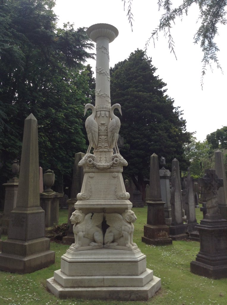 AND a memorial based on the design of a candlestick!!