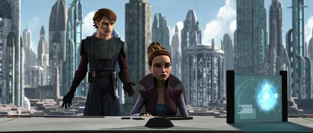 Anakin and Padmé must get creative to keep their union a secret in this weeks #CloneWarsRewatch of Hostage Crisis: strw.rs/6018EqILY