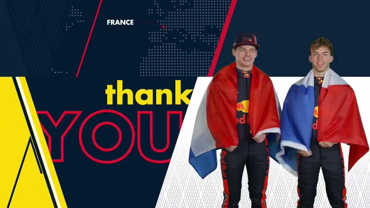 Merci beaucoup! 🙌🇫🇷 #FrenchGP #F1