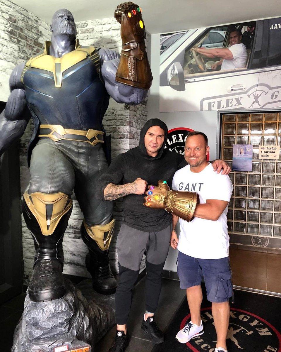 Secrets Of Dune Rali On Twitter Dave Bautista Vs Josh Brolin Wait I M Confused At Flex Gym Budapest Dune Thanos Rabban Gurney Avengersendgame Https T Co Pmsowegg4k