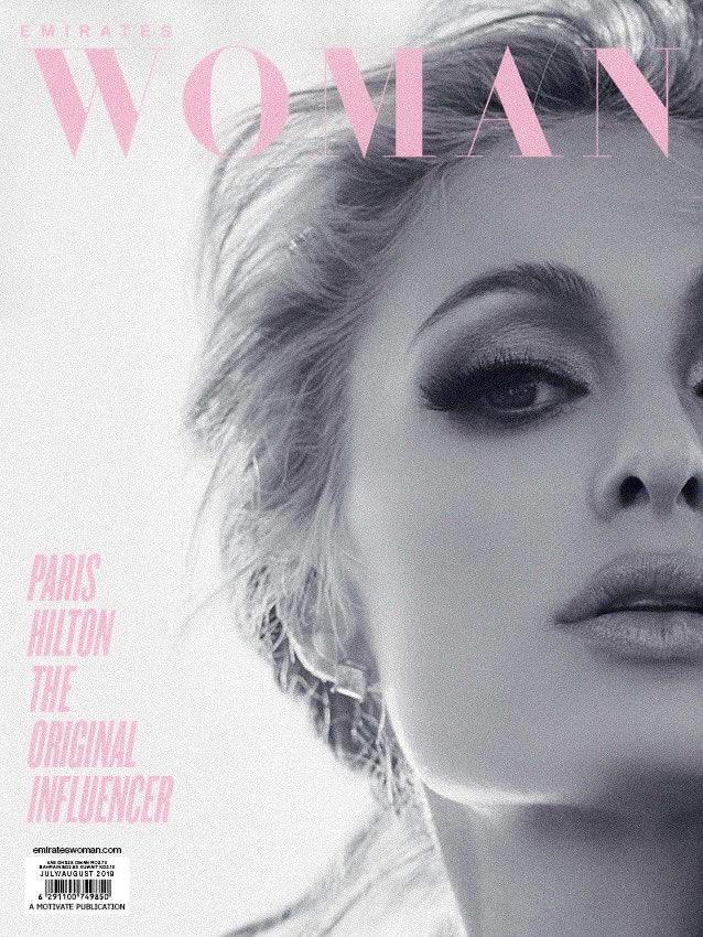 Loving my new cover for @EmiratesWoman Magazine. ✨👸🏼✨ #TheOriginalInfluencer 👑