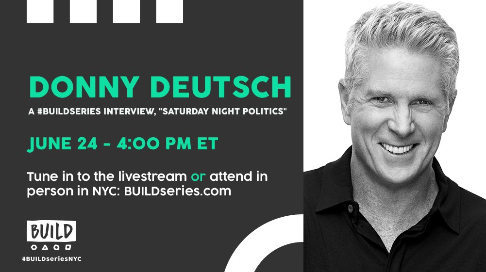 We'll be live with @SNPonMSNBC host @DonnyDeutsch today at 4PM ET on https://t.co/M8xULppBpa! https://t.co/pSIMyE7PwM