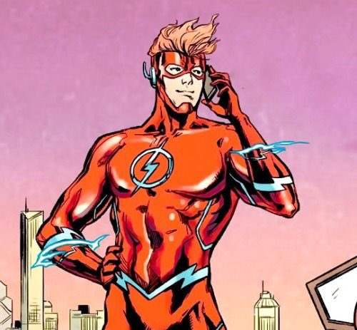 Who are your 2 favorite characters from DC and Marvel? Respond with pictures or gifs.