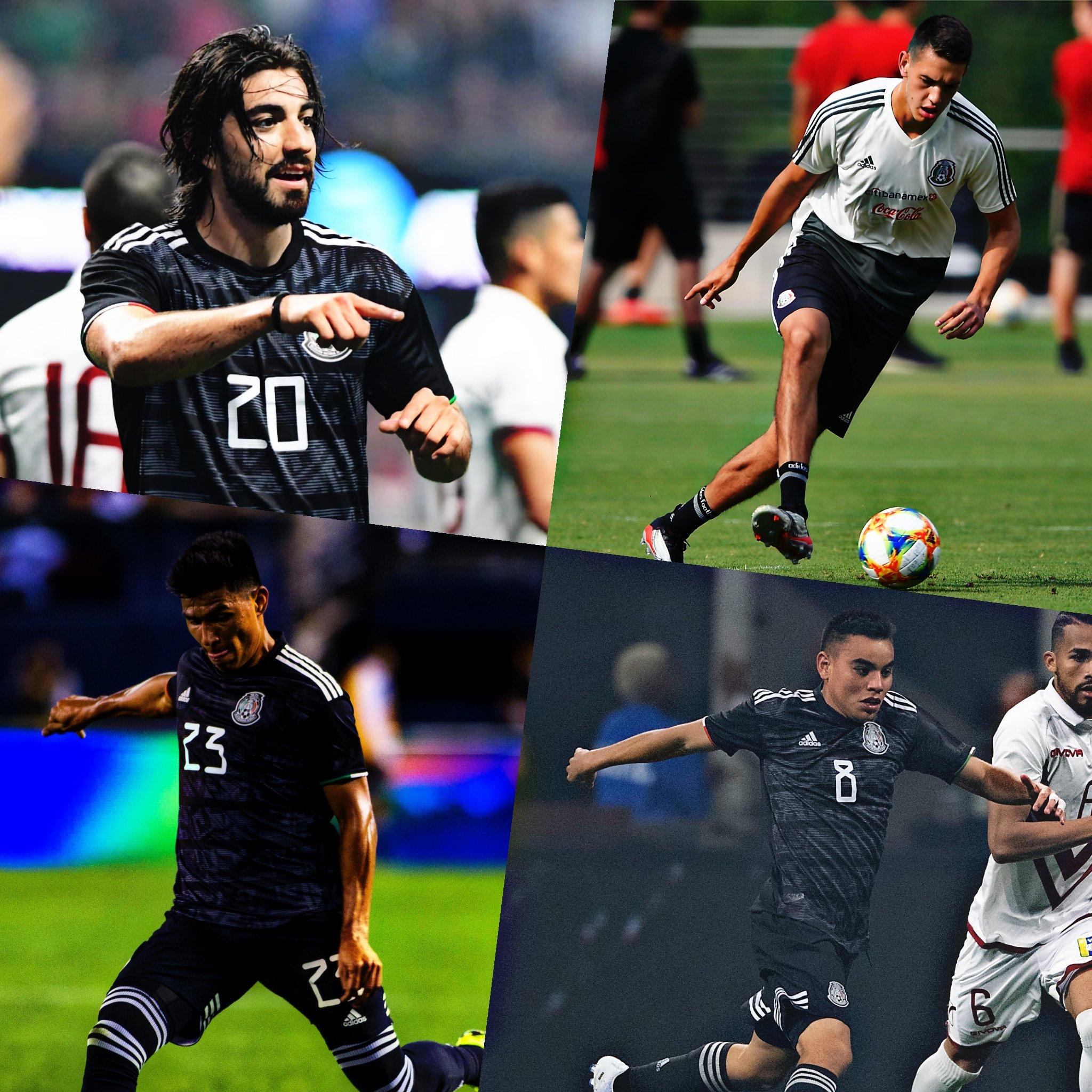 México gana 3-2 ante Martinica Copa Oro Fase de Grupos 2019