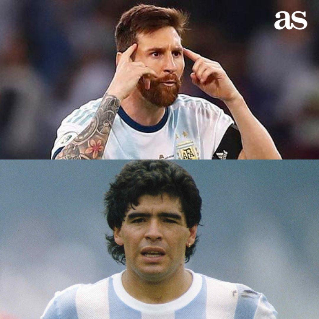🔥 Si tuvieras que elegir a uno para tu equipo... 🔁 Messi ❤️ Maradona