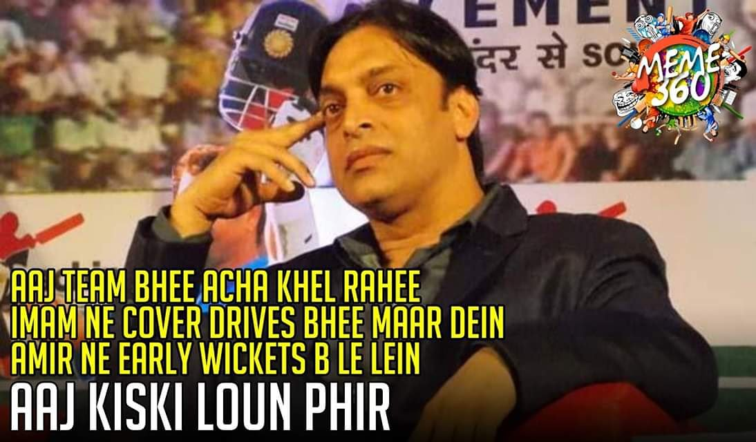 Sir today take on the dropped catches! 😄@shoaib100mph