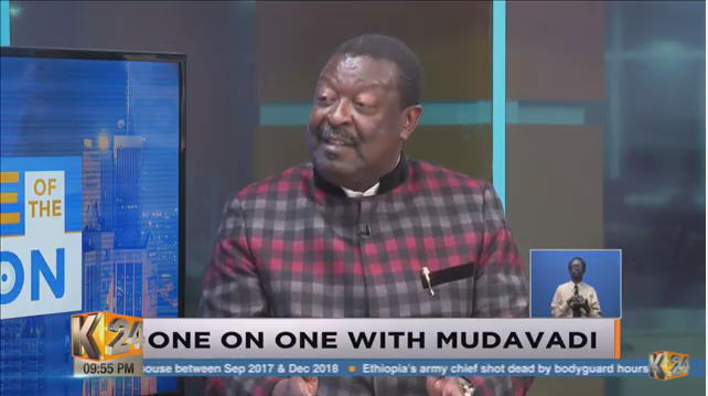.@MusaliaMudavadi: I will go for PRESIDENCY; I have done my bit in playing supportive roles and it's now my turn to present myself to the people of Kenya to make a choice. #SOTN #K24SundayEdition w/ @Fredindimuli